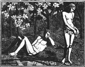 Adam & Eve (giclée only)
